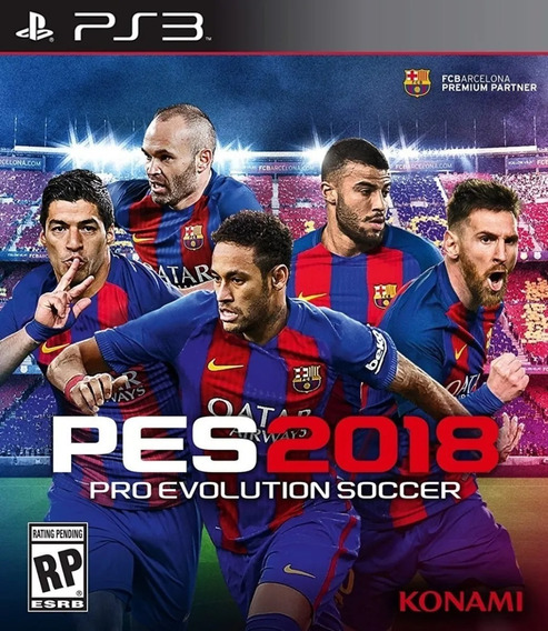 Pes 2018 Evolution Soccer Ps3 Pen Drive - Ler Descrição