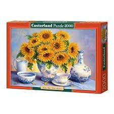 Castorland 200481 X 2000 Piezas - Golden Blue - 92x 68 Cm