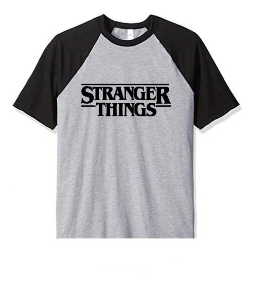 Remera Stranger Things Logo Niños Infantil