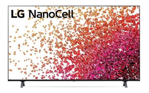 Imagen 1 de 4 de Televisor LG Nanocell 55'' Nano75 4k Smart Tv - 55nano75spa