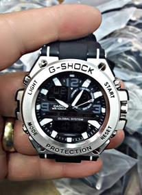 Relógio Casio G-shock Steel Aço Inox Barato Promoção