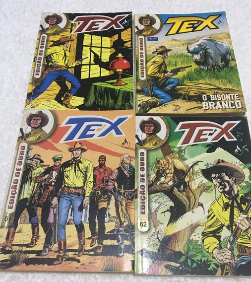 4 Tex - Edição De Ouro - Nº 11, 53, 61, 62 (frete Grátis)