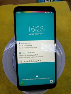 Celular Lg Q6 Black 32gb Bien Cuidado $8000