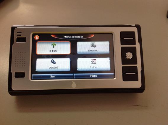 Gps Barato Orange Or-g816 Touch Completo C/ Case De Couro