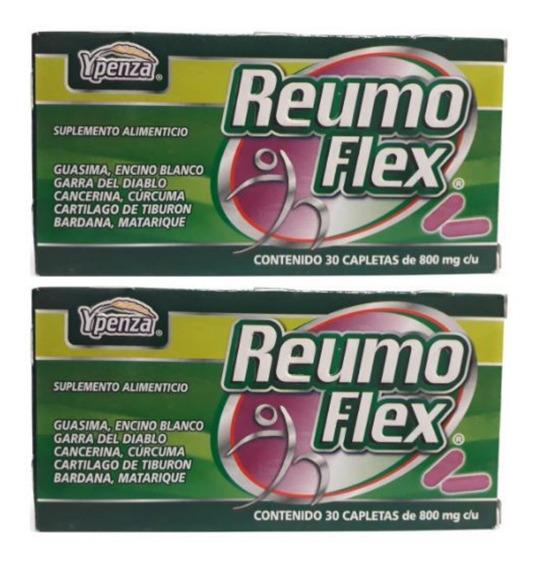 Reumo Flex Ypenza Verde 30 Capletas (2 Piezas) Envio Full