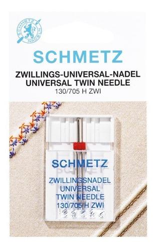 Aguja Doble / Gemela Schmetz Para Máquina De Coser Familiar