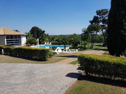 Chácara Com 3 Dormitórios À Venda, 5858 M² - Lagos De Shanadu - Indaiatuba/sp - Ch0163