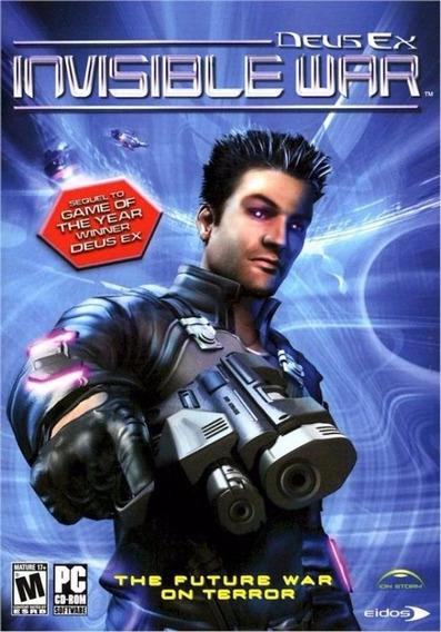 Game Pc Lacrado Deus Ex Invisible War Importado (usa)