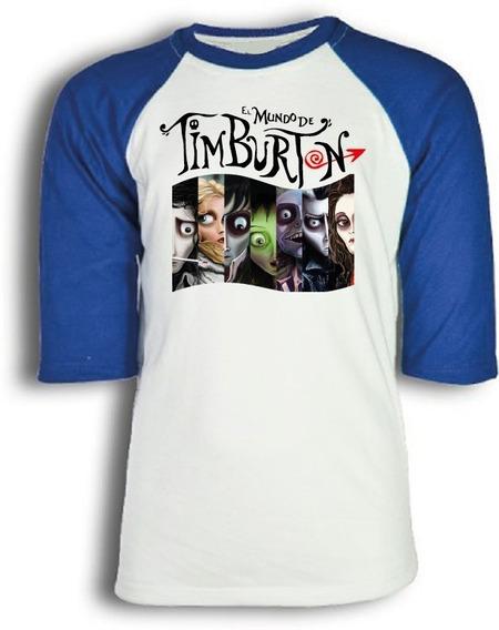 Playera El Mundo De Tim Burton Para Niño, Dama O Caballero