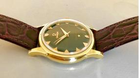 Omega Constellation Único Black Ouro Maciço Chronometer