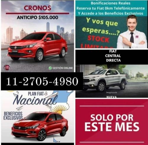 Fiat Toro 0km Entrega Inmediata Con $159.000 Tomo Usados A-