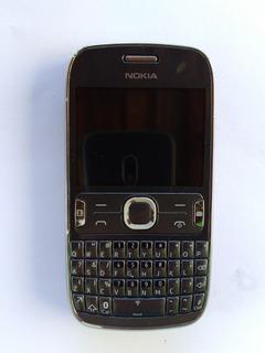 Celular Nokia Asha 303 Com Wifi , Mp3 Player, Rádio Usado