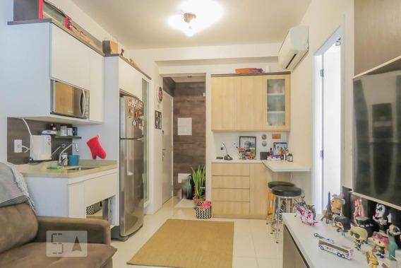 Apartamento No 7º Andar Com 1 Dormitório E 1 Garagem - Id: 892975172 - 275172