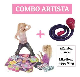 Combo Alfombra Musical Dancer + Micrófono Zippy Song Envios