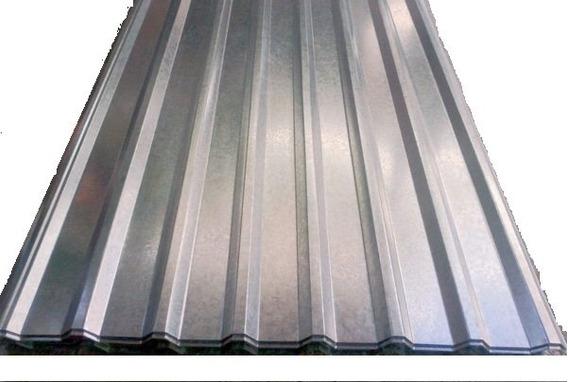 Lamina Galvanizada Tipo R101 A 2.44 Ml Calibre 24