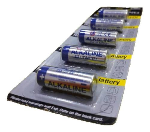 Imagem 1 de 5 de Pilhas 12v 23a Cartela De Bateria Alkaline Com 5 Unidades