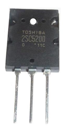 2sc 5200 2sc5200 Transistor Potencia Toshiba