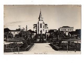 Cartao Postal Fotografico Igreja Matriz Monte Sião Mg Dec 50