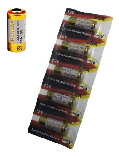5 Bateria A23 12v Controle Portão Alarme
