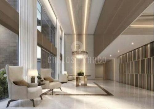 Imagem 1 de 9 de Apartamento Em Construção Cyrela, 3 Suítes Em Moema - Cf64570