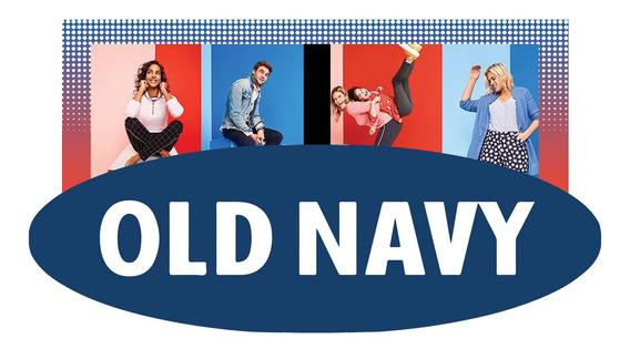 Playera Niña Manga Corta Estampada Cuello Redondo Old Navy