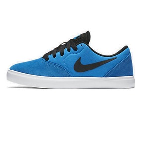Tênis Infantil Nike Sb Check Azul Original