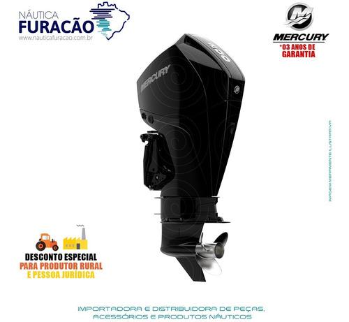 Motor De Popa Mercury 4 Tempos 200hp Xl Efi V6 Mec Preto
