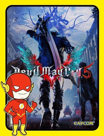Devil May Cry 5 Pc - Steam Key (envio Flash)