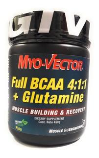 Full Bcaas+glutamina Myovector 450g Var Sab Envio Full