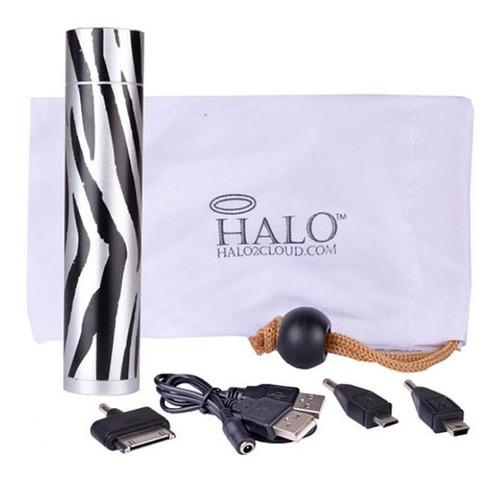 Power Bank Halo 2800mah C/usb/3 Adap. (zebra)