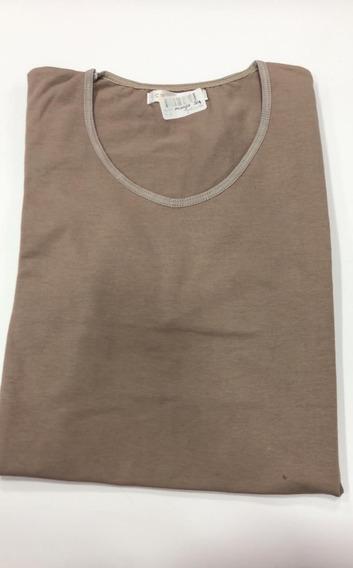 Camiseta Manga 3/4 Algodón Y Licra Coramina 425c