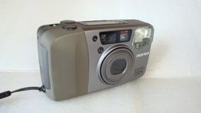 Maquina Fotografica 35mm Espio 115m Pentax - Usada No Estado