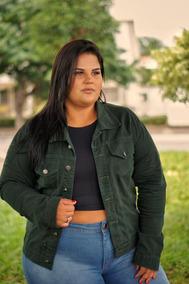 Jaqueta Jeans Feminina Plus Size G1 G2 G2 Roupas Femininas
