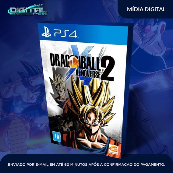 Dragon Ball Xenoverse 2 Ps4 Psn Game Digital Envio Rápido.