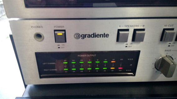 Amplificador Gradiente Model 166 + Tuner Model 9