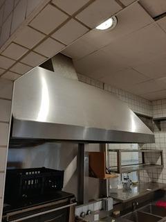 Campana De Cocina Industrial En Acero Inoxidable 1.40mts X90