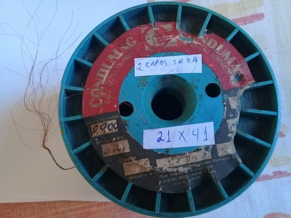 Diodo + Fio Litz 21 X 41 Rádio Galena Ou Spirit (10 Metros)