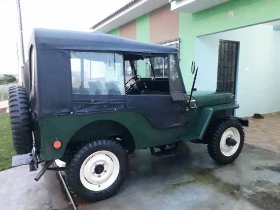 Jeep Willys Ano 1948 Mod 1948, Verde