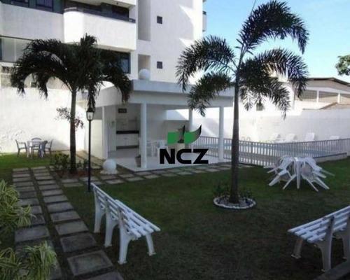 Cobertura Com 4 Dormitórios À Venda, 200 M² Por R$ 535.000,00 - Centro - Lauro De Freitas/ba - Co0119