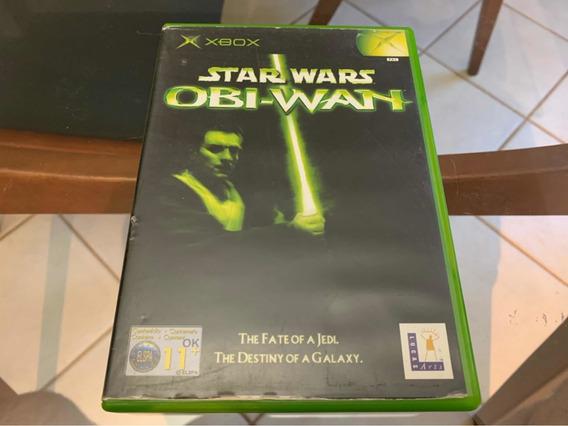 Star Wars Obi-wan Xbox Clássico