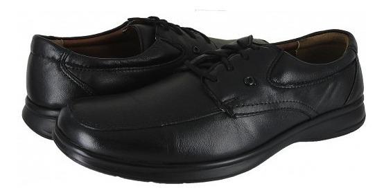 Zapatos Quirelly 88701 Flor Entera Negro 25-31 Caballeros