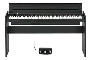 Korg Lp180bk 88 Estilo De Vida Clave Piano Negro