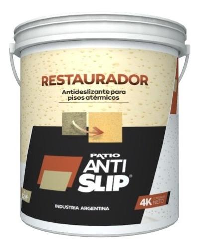 Imagen 1 de 2 de Restaurador Antideslizante Pisos Atermicos Blancos 32m2