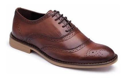 Sapato Social Oxford Inglês Couro Nobre Legitimo Alto Luxo