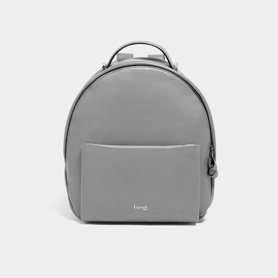 Mochila By The Seine Nano Backpack Lipault Magnetic Grey