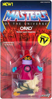 Super7 Masters Of The Universe Vintage Collection Orko