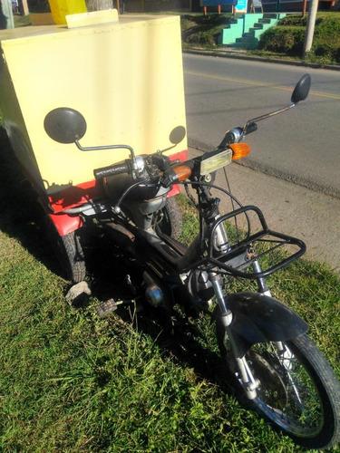 Moto Zanella Tricargo 75 Cm. Cub. Con Caja Para Reparto
