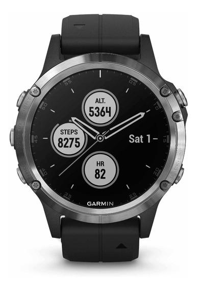 Smartwatch Garmin Fênix 5 Plus 47mm Gps Spotify Hrm