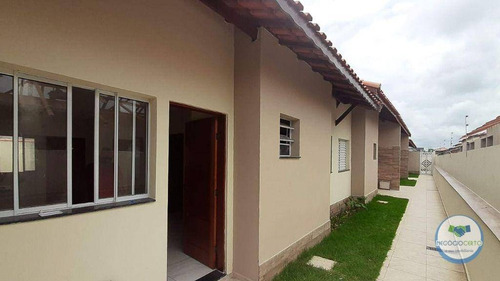 Imagem 1 de 6 de Casa Com 2 Dormitórios À Venda, 47 M² Por R$ 189.000,00 - Cibratel Ii - Itanhaém/sp - Ca0621