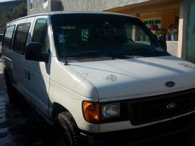 Ford Econoline 5.4 E-350 Wagon V8 15 Pasajeros Mt 2002